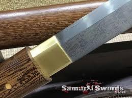 Shirasaya 1095 Folded Steel With Rosewood Saya