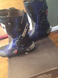 motorcycle bike boots sidi motor bike boots in newcastle tyne and wear gumtree