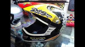 rockstar energy motocross helmet casco rockstar by hess designs youtube