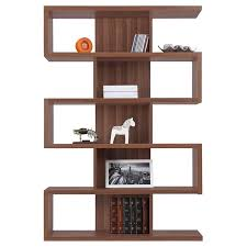 Walnut Corner Bookcase Books And Dvds With Some Sculptural Objects Mixed In Zig