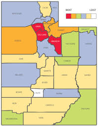Counties In Utah Map by Alum News Continuum