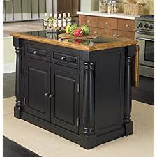 black distressed kitchen island home styles 5009 94 monarch granite top kitchen