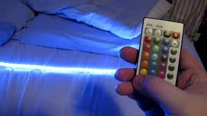 Led Lights For Bedroom Thegeekredneck Review 1m 5050 Rgb 60led Strip Lights Youtube