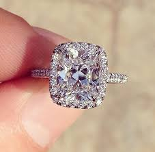 halo cushion cut engagement ring cushion cut engagement rings pros and cons