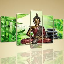 feng shui home decorating canvas print feng shui zen art buddha bamboo interior home decor