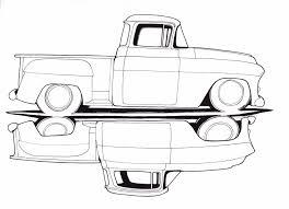 old chevy truck drawings trucks pinterest drawings