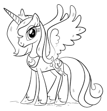 princess luna coloring free printable coloring pages