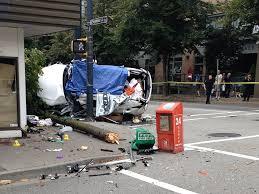 two dead three hurt after u0027horrific u0027 car crash in downtown