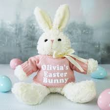 easter bunny gifts personalised easter bunny gift by sparks living notonthehighstreet