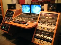 magnificent recording studio desk images keyboard workstation