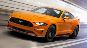 Black And Orange Mustang 2018 Mustang Digital Dash 10 Speed Automatic Turbo Four Kills