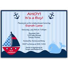 ahoy it u0027s a boy whale red baby shower invitation u2013 the invite lady