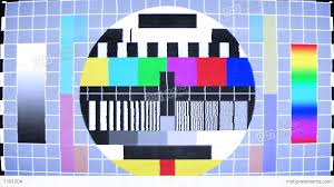 color test tv test screen with color bars stock animation 1191204