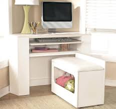 Corner White Desks Corner White Desks S White Corner Desk With Shelves Ikea