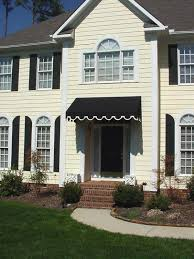 Exterior Door Awnings Eye Catching Awning For Front Door Of Residential And Window