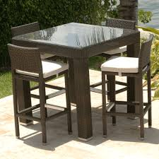 Kitchen Table Swivel Chairs by Bar Height 3 Piece Patio Furniture Set Patio Furniture Bar Height