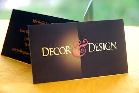 interior design business card slim image