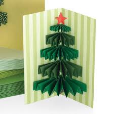 3d christmas cards 3d christmas tree handmade christmas card idea scraplifters