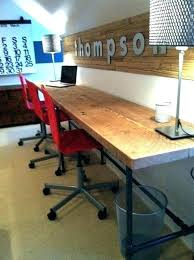 extra long desk table long desk long desk table for two large size of long office desks