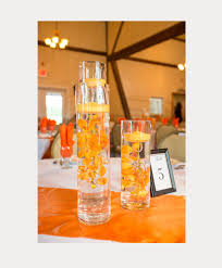 Vases With Floating Candles Floating Candle Centerpieces Mon Cheri Bridals