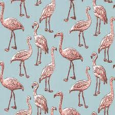 wallpaper with pink flamingos turquoise flamingo wallpaper the alley exchange