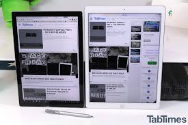 black friday deal on amazon ipad ipad pro vs surface pro 4 flagships from different worlds dgit