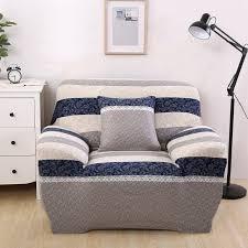 sofa hussen stretch aliexpress blau und grau streifen coner sofa hussen