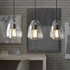 Island Lights Kitchen by The Belton Collection Influenced By The Vintage Industrial