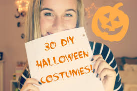 30 easy diy halloween costume ideas youtube
