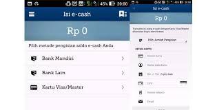 email mandiri cara mendaftar mandiri e cash dan cara mengisi saldonya