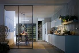 Modern Kitchen Interior Simple Kitchen With Aluminium Furniture Design For Small Space By