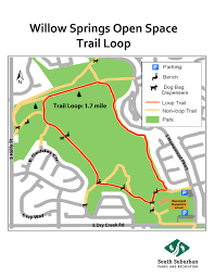 Colorado Springs Trail Map by Parks