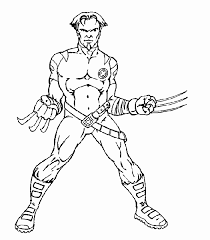 x man coloring pages