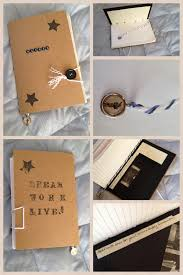 memorable graduation gifts diy upcycled journal goods