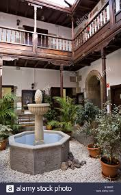 Traditional Style Of House With Internal Courtyard And Balcony