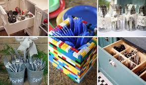 top 27 clever and diy cutlery storage solutions amazing diy