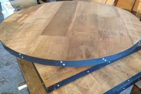 Hardwood Table Tops by Reclaimed Wood Restaurant Tables