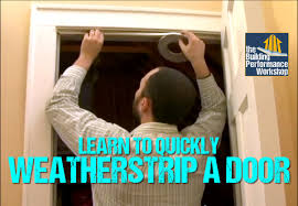 How To Soundproof Your Bedroom Door How To Weatherstrip Doors Diy Weatherization Solutions From Green