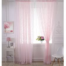 light pink sheer curtains pink lace curtains romantic light pink sheer curtains for bedrooms