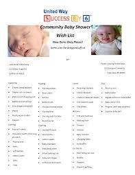 baby shower registry list best inspiration from kennebecjetboat