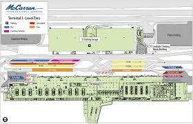 Las Vegas Convention Center Map by Mccarran Ndege Wa Terminal 3 Ramani Jpg