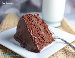 moist chocolate layer cake housemoms