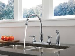 delta cassidy kitchen faucet faucet com 2497lf ar in arctic stainless by delta