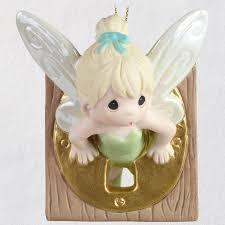 disney pan tinker bell precious moments porcelain ornament