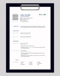Free Fill In Resume Template Html Resume Template