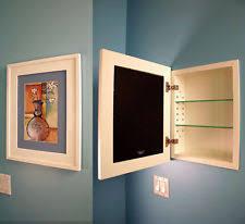 medicine cabinet without mirror recessed medicine cabinet ebay