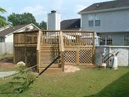 home dek decor exterior entrancing dark walnut wood decks including walnut deck