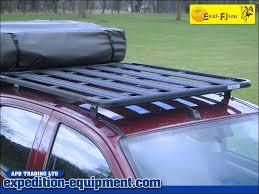 Ezi Awn Eezi Awn K9 Isuzu D Max D Cab Roof Rack