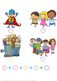count and add boys and girls math puzzle worksheet free