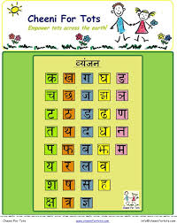 enjoy learning hindi alphabets with cheeni for tots